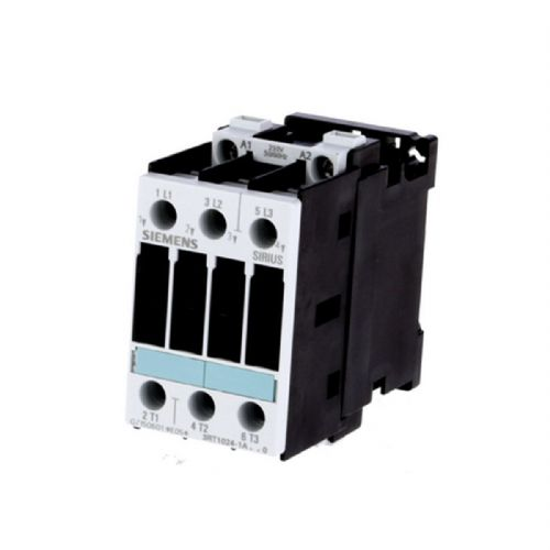 SIEMENS 3RT1024-1AL20 5,5KW TELER S0 3RT2024 5,5KW 12A Contactor: 3-pole; NO x3; Auxiliary contacts